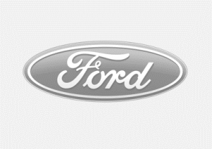 Ford Logo Grey background