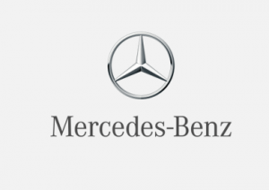 Mercedes Logo Grey background