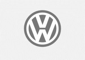 VW Logo Grey background
