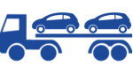Icon Car transport Blue NB